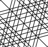 Решетка, сетка скачками случайных линий художническое геометрическое изображение, иллюстрация вектора