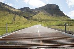 Решетка скотин на Фарерских островах Стоковое Изображение