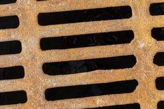 Решетка сточной трубы Стоковая Фотография