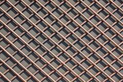 Решетка толстых штаног Штанги сделанные из цветного металла Текстура, Стоковая Фотография