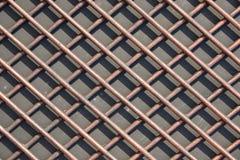 Решетка толстых штаног Штанги сделанные из цветного металла Текстура, Стоковые Фотографии RF