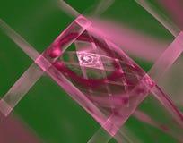 Решетка фрактали прямоугольников иллюстрация штока