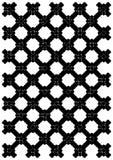 решетка черного листового железа Стоковые Фото