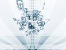 решетка чисел Стоковая Фотография RF
