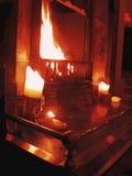 решетка fireside стоковая фотография rf