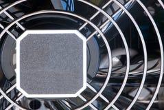 решетка s вентилятора компьютера Стоковые Изображения