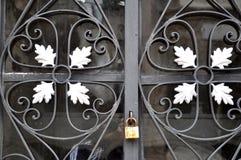 Решетки в кладбище Стоковая Фотография RF