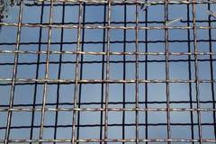 Решетки металла готовы очистить металл Стоковые Изображения