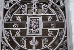 Решетки окна Стоковое Изображение