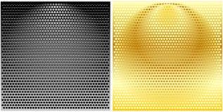 решетки metal вокруг комплекта Стоковое Изображение RF