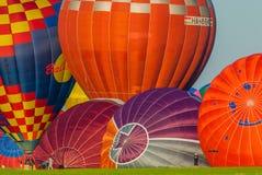 Реюньон баллона горячего воздуха Mondial в Лорене франция Стоковое фото RF