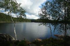 Релаксация на озере Стоковое Изображение