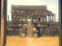 Редактор или университетская библиотека Angkor Wat Стоковые Фотографии RF