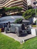 Редакционная скульптура гоночной машины и водителя Монте-Карло Монако Стоковое Изображение RF