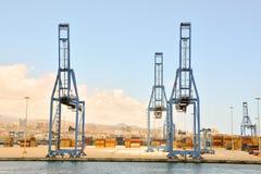 Редакционное промышленное здание в порте Стоковая Фотография