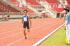 Реле в чемпионате 2013 Таиланда открытом атлетическом. Стоковые Фото