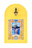 Религиозная керамическая плитка Стоковая Фотография