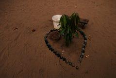 Религиозная традиция в родной Африке Стоковая Фотография