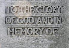 Религиозная хвалебная речь Стоковая Фотография