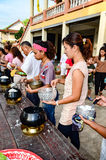 Религиозная церемония в Таиланде Стоковые Фото