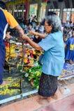 Религиозная церемония в Таиланде Стоковое фото RF