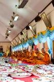 Религиозная церемония в Таиланде Стоковое Изображение RF