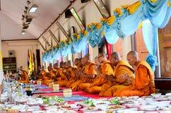 Религиозная церемония в Таиланде Стоковая Фотография RF