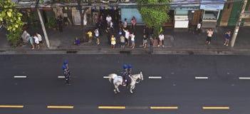 Религиозное шествие в Таиланде стоковое фото rf