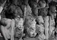 Религиозные каменные статуи. Индонезия, Бали Стоковые Изображения