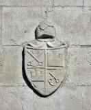 Религиозный герб в Венеции Стоковое Изображение RF