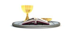 Религиозный комплект Стоковое фото RF