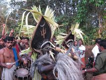Религиозный праздник Кералы Стоковые Фотографии RF