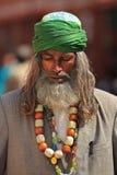 Религиозный человек Индия стоковые изображения rf
