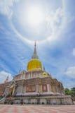 Реликвии в виске Таиланда Стоковые Фото