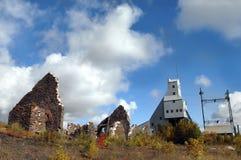 Реликвии медного рудника Quincy Стоковые Фотографии RF