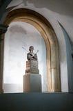 Реликвия Острова Св. Елена головная в соборе Трир стоковые изображения rf