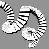 Редкая лестница Стоковые Фотографии RF