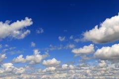 Редкие облака кумулюса Стоковая Фотография RF