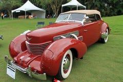 Редкий классицистический американский автомобиль стоковое изображение rf