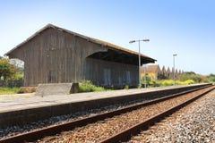 Рельсы поезда Стоковые Изображения