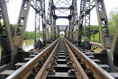 Рельс-поезд Стоковые Фото