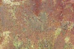 Ржавая дверь - текстура Стоковое Фото