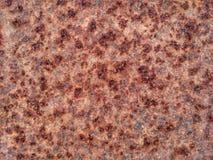 Ржавая железная поверхность плиты Стоковые Изображения