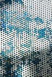 Ржавая железная текстура стула, конец вверх Стоковое Фото