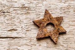 ржавая звезда Стоковые Фото