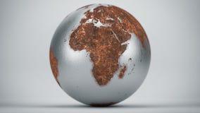 Ржавая земля Африка Стоковые Изображения RF