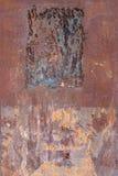 Ржавая и поцарапанная текстура металла Стоковое фото RF