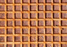 Ржавая крышка металла на трубке сточной трубы Стоковое Изображение