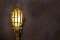 Ржавая освещенность фона Стоковое Фото