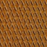 Ржавая плита стального пола, безшовная стоковое фото